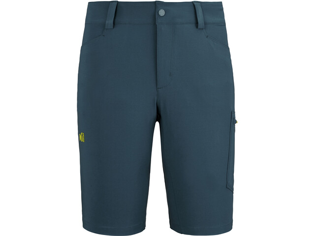 Millet Wanaka Shorts Hombre, orion blue/wild lime